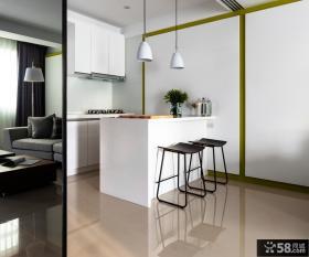 极简风格小厨房装修设计