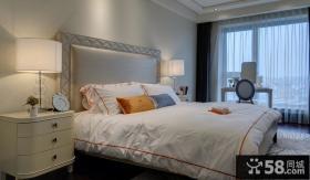 美式新古典风格时尚卧室效果图