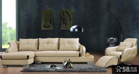 简欧风格客厅沙发背景墙图片