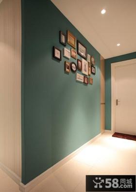 时尚简约风格室内相片墙设计效果图片