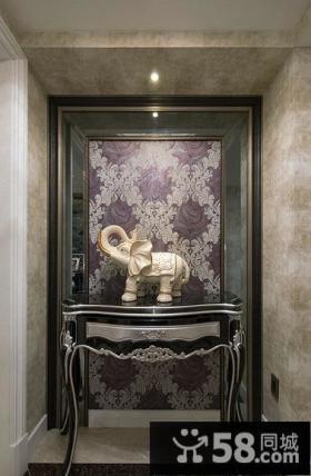 摩登欧式新古典玄关设计