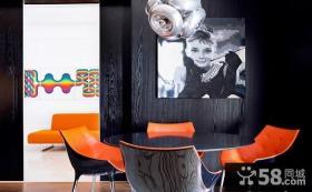 后现代风格餐厅室内装修效果图