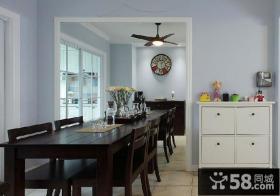 美式风格家居餐边柜图片