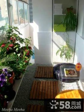 家装小阳台设计效果图