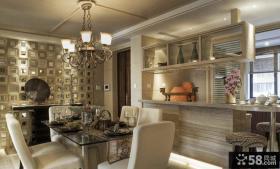 新古典风格室内餐厅设计效果图