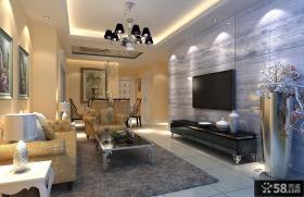 浪漫简约的三居室主卧室装修效果图大全2014图片