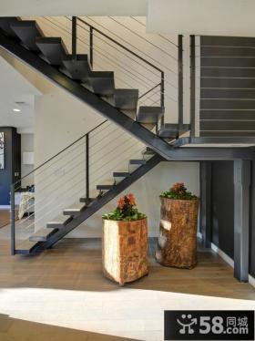 钢构小别墅楼梯设计
