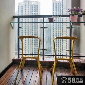 休闲创意小阳台装潢