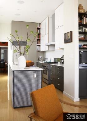 小厨房开放式设计效果图