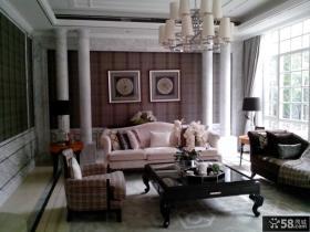 宜家欧式别墅客厅装修图