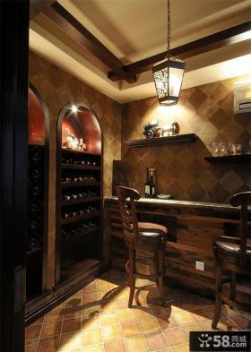 美式别墅酒窖设计