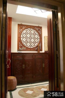 古典中式玄关设计