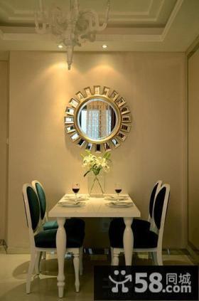 欧式豪华装修设计时尚餐厅图片