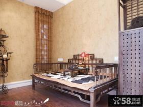 古典中式罗汉床图片