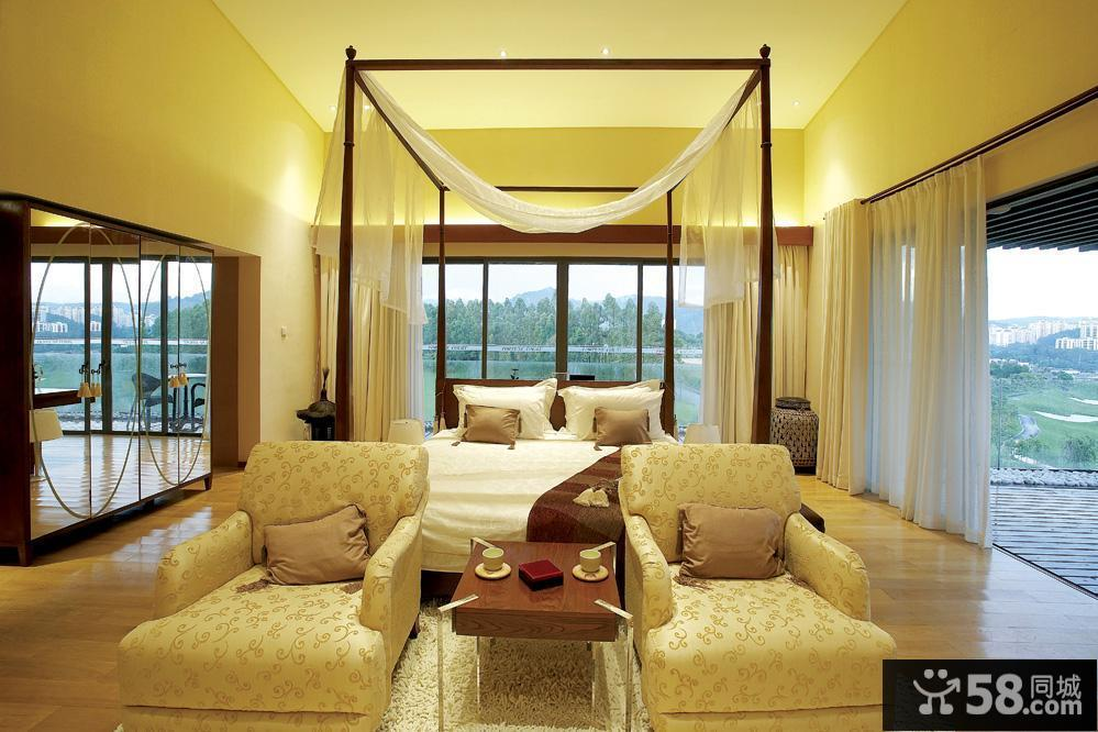 后现代卧室装修图片
