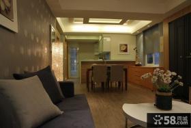 现代美式风格餐厅家居装修图片