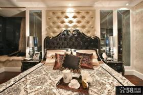 欧式新古典装修设计卧室床头柜图片