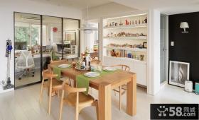 宜家风格两居餐厅设计效果图