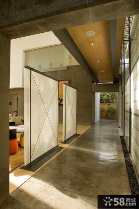 日式复式房屋室内装修效果图大全2014图片
