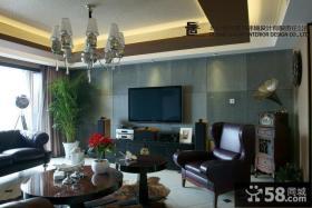 客厅瓷砖电视背景墙效果图大全