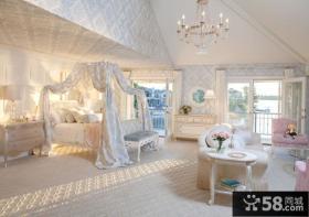 豪华公主卧室图片