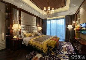 新古典复式家装设计卧室图片欣赏