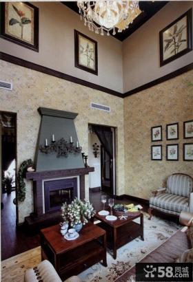 美式别墅家具设计2014