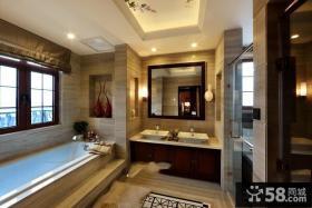 美式风格卫生间设计图片欣赏