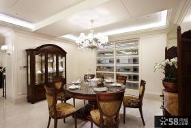淡雅美式风格三居室家居设计装修效果图