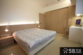 现代时尚风格两室两厅卧室装修效果图