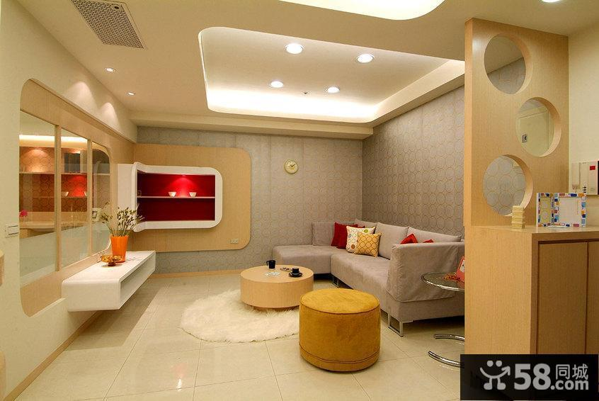 极简小户型室内客厅装修图片