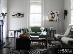 现代混搭巴洛克风格二居室设计
