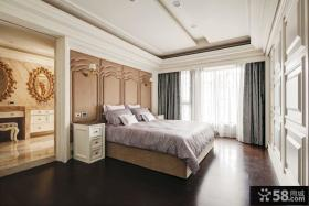 欧式风格两房装修主卧室图片