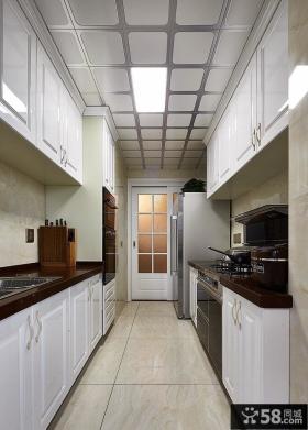 简欧风格厨房设计效果图片欣赏