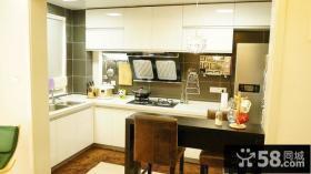 小户型厨房装修效果图2014