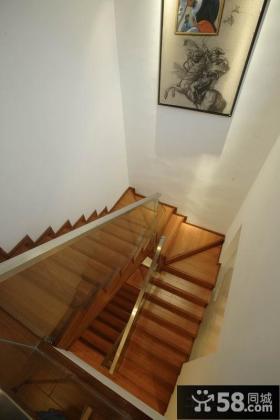 别墅楼梯设计效果图片欣赏