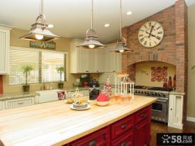 厨房欧式挂钟图片