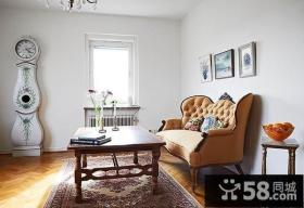 45平米超小户型客厅装修效果图大全2014图片
