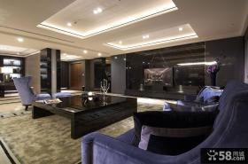 现代风格三室一厅餐厅装修图片