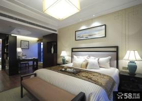 卧室床头装饰画装修效果图欣赏