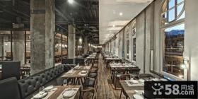 主题酒吧餐厅设计效果图
