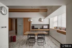 田园小户型厨房餐厅设计图片