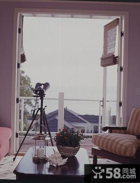 80㎡小户型婚房阳台装修效果图大全2014图片