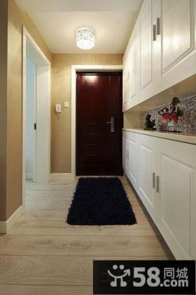 现代美式风格家庭玄关装修图片