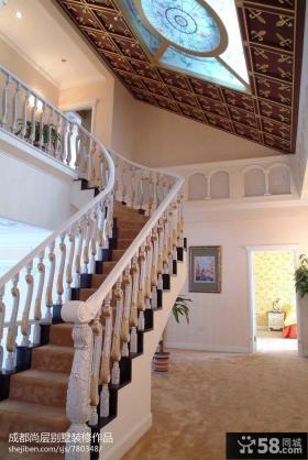 2013别墅楼梯装修效果图片欣赏