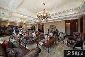 奢华古典美式别墅装潢案例