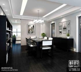 2013现代风格客厅嵌入式电视背景墙效果图