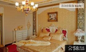 欧式风格装修卧室图