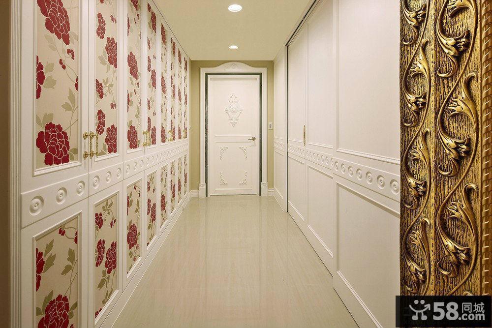 欧式别墅玄关装修效果图图片