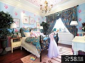 美式风格公主房装修效果图
